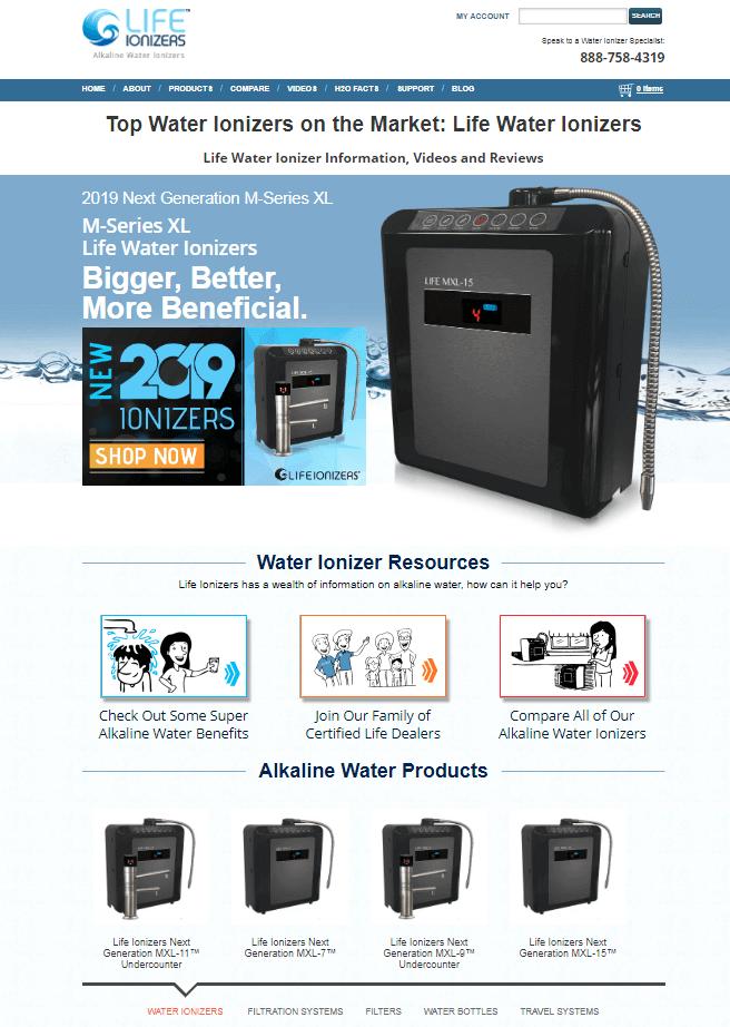 Best SEO San Diego SEO & Web Design & Ecommerce Clients Life Ionizers